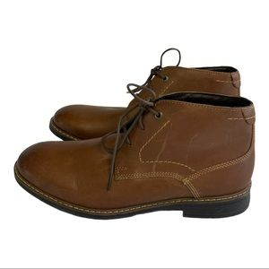ROCKPORT Brown Classic Break Chukka Ankle Boots 8